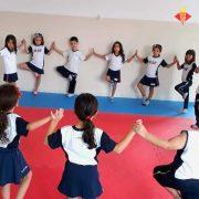 Yoga no Instituto de Ensino Sagrada Família em São Caetano do Sul